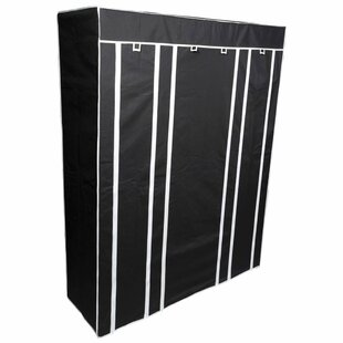 Collapsible 45cm Wide Portable Wardrobe By Symple Stuff