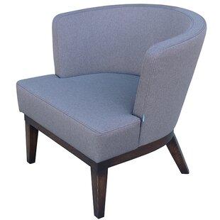 Gela Sabine Fabric Lounge Chair by B&T Design