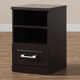 Find the perfect Topsfield 1 Drawer Nightstand by Zipcode Design