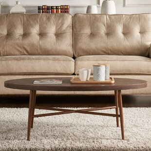 Umstead Oval Coffee Table by George Oliver Coupon