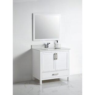 Bryna 36 SingleBathroom Vanity Set with Mirror