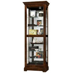 Martindale Lighted Curio Cabinet by Howard Miller?