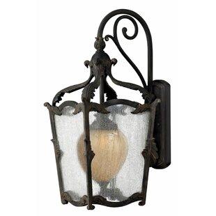 Melton 1-Light Outdoor Wall Lantern by As..