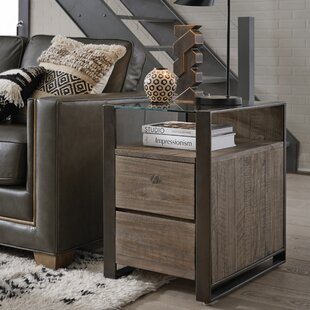 Norah End Table with Storage by Foundry Select