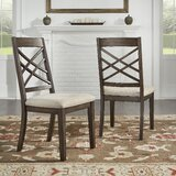 McAllen Upholstered Dining Chair (Set of 2) by Charlton Home®