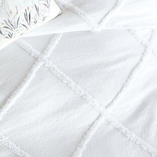 Quintin Chenille Lattice Comforter Set