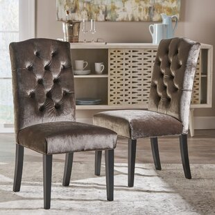 Anders Solid Wood Dining Chair (Set of 2) Mercer41