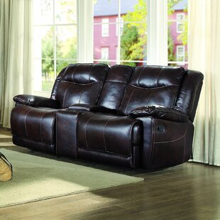 Compare Boody Leather Reclining Loveseat by Red Barrel Studio Reviews (2019) & Buyer's Guide