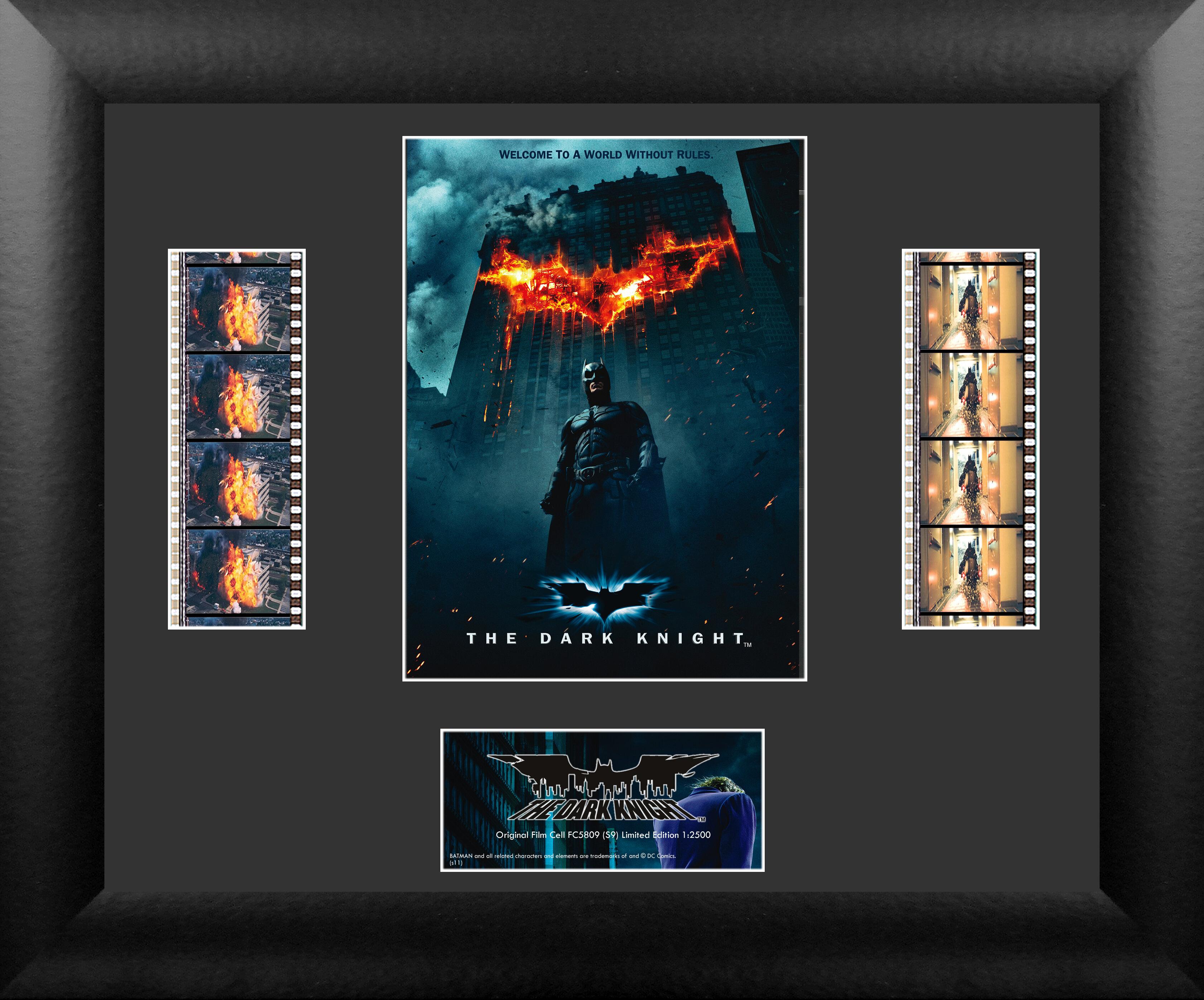 Trend Setters Batman The Dark Knight Double Filmcell Presentation