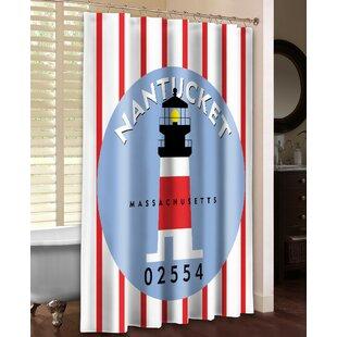 Nantucket Single Shower Curtain