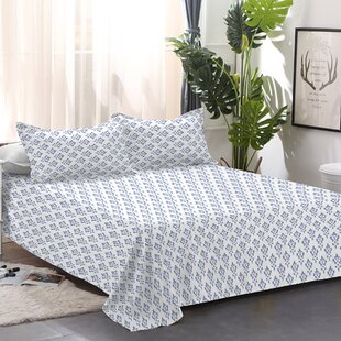 Lux Flannel Damask 100% Cotton Sheet Set