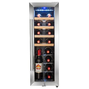 20 Bottle Single Zone Freestanding Wine Cooler
