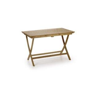 Loyola Irregular Rectangular Table By Sol 72 Outdoor