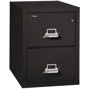 Fireproof 2-Drawer Vertical File Cabinet by FireKing Great price