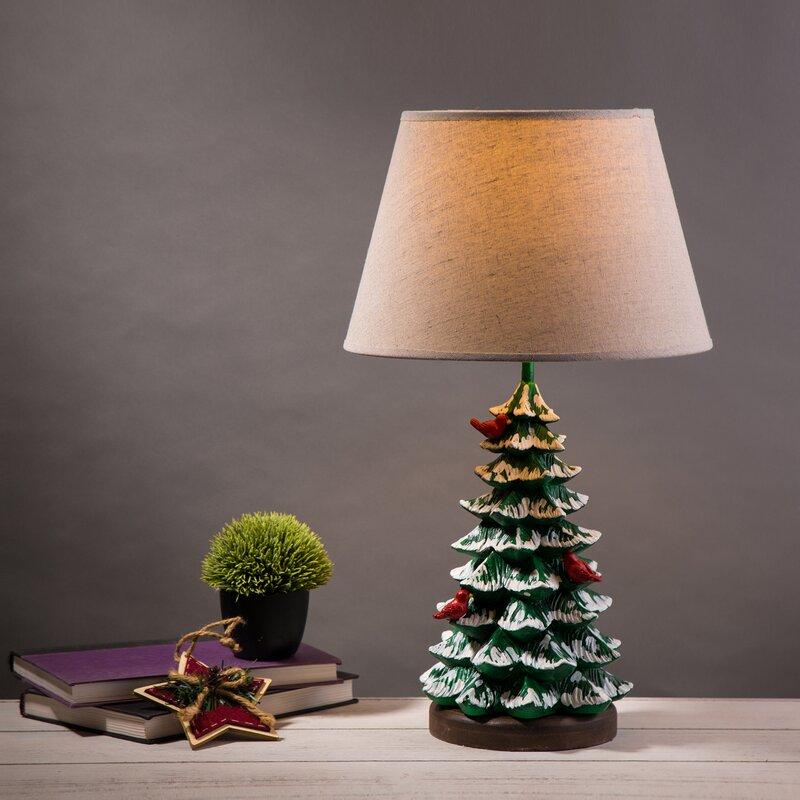 The Holiday Aisle Allred Christmas Tree 20 Table Lamp Wayfair