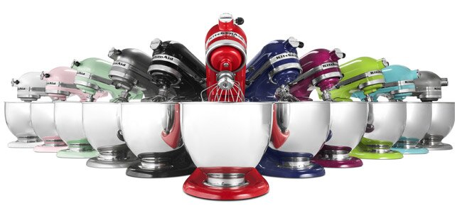KitchenAid Stand Mixers Are Covered In A Powder Coat Paint That Will  Withstand Years Of Activity In The Kitchen. The Paint Also Goes Through  Intense Color ...