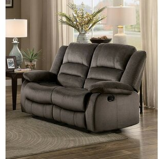 Troutdale Reclining Loveseat by Winston Porter