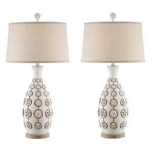 Cantu Sandollar 34 Table Lamp (Set of 2)