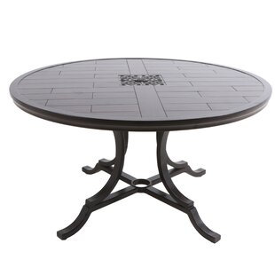 Bungalow Round Aluminum Dining Table