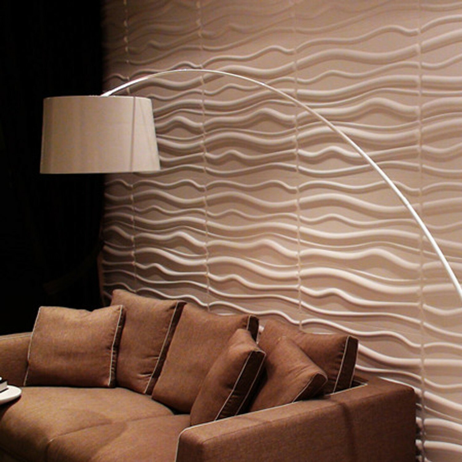 E Joy 19 7 X 19 7 Vinyl Wall Paneling In White Wayfair