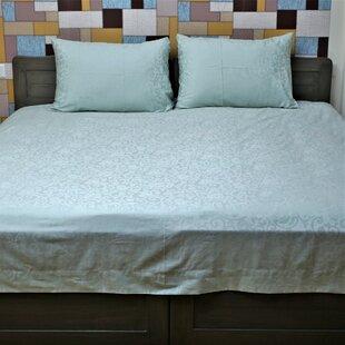 Red Barrel Studio Iliomar Genuine Jacquard 350 Thread Count 100% Cotton Sheet Set