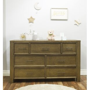 Savings Floating 7 Drawer Double Dresser by Sorelle