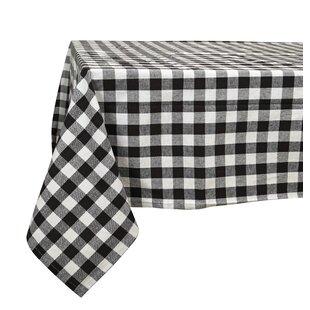 Arlington Checkered Cotton Tablecloth
