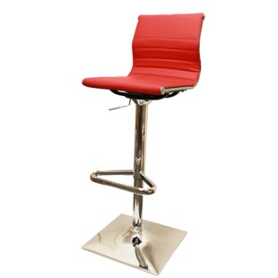Baskin Swivel Adjustable Bar Stool By Metro Lane