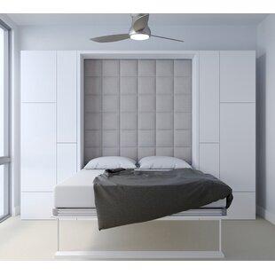 Berezinsky Queen Upholstered Storage Murphy Bed by Latitude Run