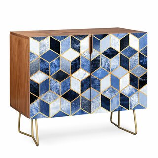 2 Door Accent Cabinet by East Urban Home SKU:AD726412 Shop
