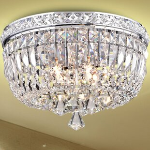 House of Hampton Mckinnon 4-Light Flush Mount