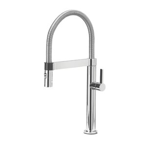 Blanco Culina Single Handle Deck Mounted Kitchen Faucet with Pull Down