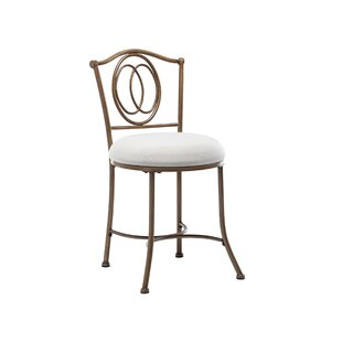 White Fluffy Vanity Chair Wayfair