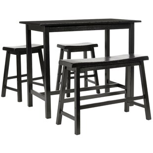 Chelsey 4 Piece Dining Set by Trent Austin Design 2019 Coupon