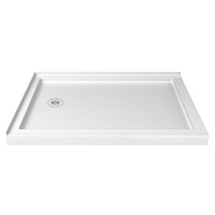 Compare & Buy SlimLine 48 x 34 Double Threshold Shower Base ByDreamLine