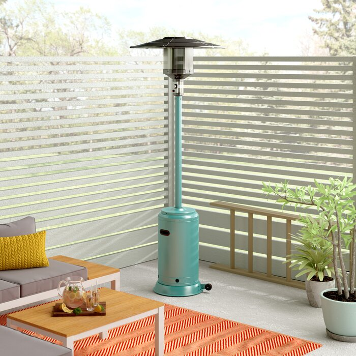 Mercury Row Lamarr 46,000-BTU Propane Patio Heater