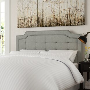 Findlay Queen Upholstered Panel Headboard by DarHome Co 2019 Online