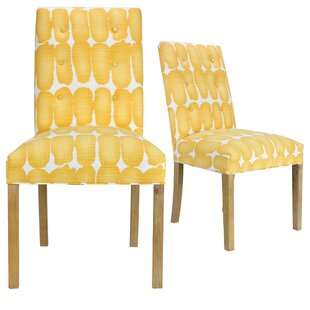 Ivy Bronx Lozano Upholstered Dining Chair (Set of 2)