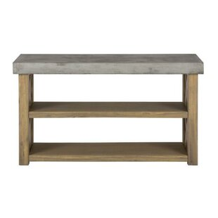 Aaralyn Wood and Concrete Server by Williston Forge