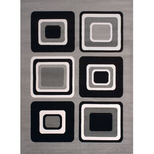 Find a Dallas Spaces Gray/Black Area Rug By United Weavers of America
