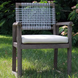 Alfresco Teak Patio Dining Chair with Cushion