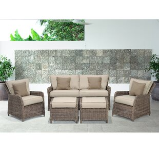 Avadi Outdoor 5 Piece Sofa Seating Group