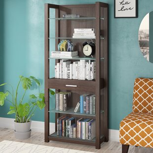 Abbigail Shelving Standard Bookcase by Wade Logan