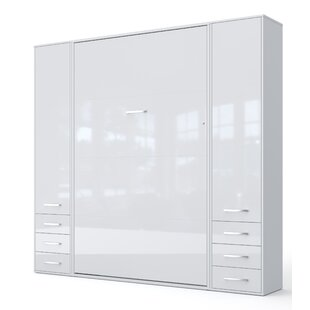 Laclair Vertical Twin Murphy Bed With Mattress by Latitude Run