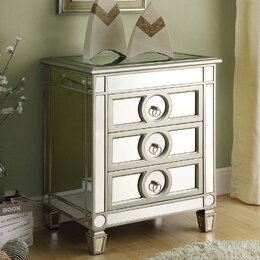 Mirrored Furniture You ll Love