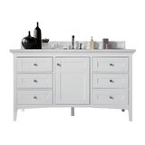 Lineberry 60 Single Bathroom Vanity Set by Rosecliff Heights