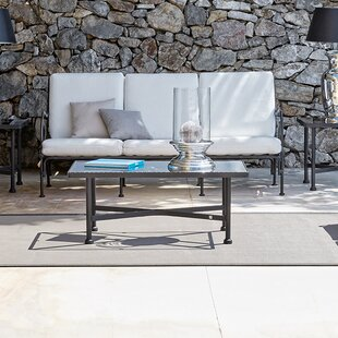 Aikens Patio Sofa with Cushions by One Allium Way