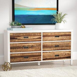 Mercury Row Bendigo 6 Drawer Double Dresser Image