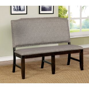 Haiden Nail Head Trim Upholstered Bench by Gracie Oaks