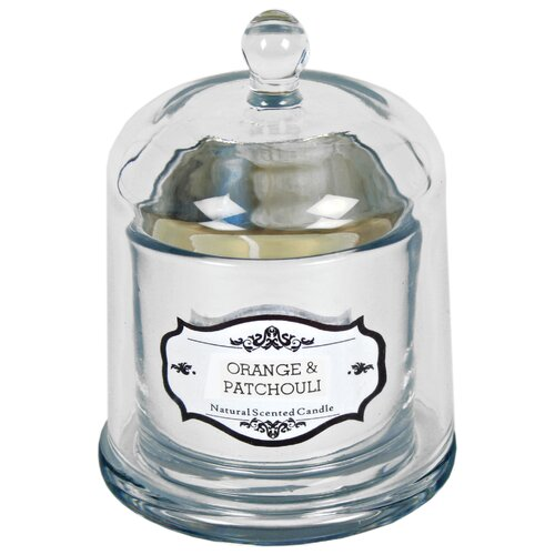 Orange and Patchouli Scented Jar Candle Lily Manor